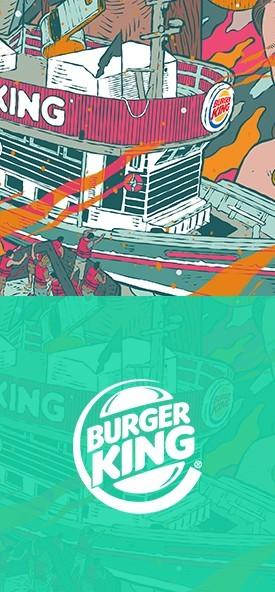 POSTER BURGER KING | 12 MILHAS